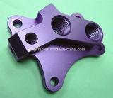 Commande numérique par ordinateur Partie de précision avec Purple Oxide Customized Spare Partie