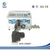 Espadelador automático do cabo da sucata/equipamento de descascamento do fio, máquina Twisted elétrica