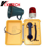 2016 Hot Sale, Highway, Tunnel Phone Knsp-03 Emergency Outdoor Phone Serviço especial Telefone à prova d'água