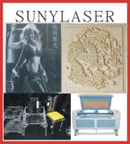 100W /80W fora da gravura do laser dos slideres & da máquina de estaca Suny-1280