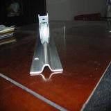 Rotella d'acciaio con la parentesi esterna per il portello scorrevole