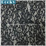 Tessuto elastico del merletto di vendita 2016 del fiore di modo del merletto caldo di Lycra