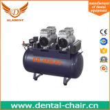 Compresor de aire dental del mudo del tanque de la crepe