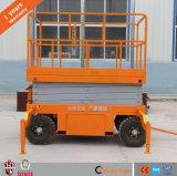 levage hydraulique mobile portatif de ciseaux de 12m mini à vendre