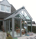 Sunroom de aluminio popular con Dor plegable grande