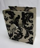 Grande Paper Wrapping Gift Bag con Polyester Ribbon Handles per New Design
