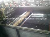 Huile de fil de ressort gâchant la chaîne de production