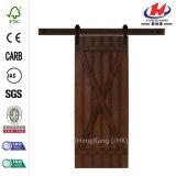 Porte en bois de diverse grange de taille de modèle d'OEM