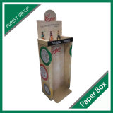 カスタム印刷ビールPDQはボール紙のディスプレイ・ケースの卸売に逆らう
