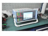 Probador de la protección del relais (voltaje de 6 fases/salida actual)