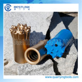 Gewinde Rock Button Drill Bits für Marble Quarry