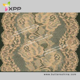 衣服のアクセサリのかぎ針編みによって編まれる綿テープレース