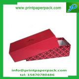 Caixa de embalagem rígida quadrada de gravação da roupa/caixa de papel do presente