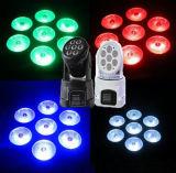 Étape et éclairage à vendre la lumière principale mobile de lavage