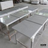 Tavolino da salotto quadrato di superficie solido acrilico di Kingkonree piccolo