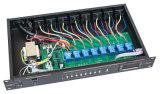 8개의 채널 통신로 전력 공급 순차기 관제사