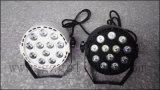 Mini-NENNWERT Licht LED-12X1w mit Plastikkarosserie (P12-1)