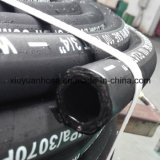 En853-2sn gewundenes Hochdrucköl-flexibler hydraulischer Gummischlauch