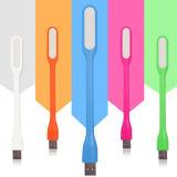 Comupter/Xiaomi 힘 은행, 마이크로 USB LED 빛을%s 유연한 LED 밤 빛 USB 충전기