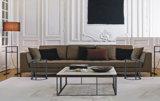 Nuovo sofà di disegno del nuovo dell'accumulazione 2016 del salone del sofà di legno solido del sofà (D-68) di stile sofà moderno del salone