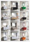 Governo rispecchiato stanza da bagno della mobilia della stanza da bagno di vanità della stanza da bagno di disegno del Governo del PVC (9025)