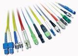 Corde de pièce rapportée optique de fibre de rue de Sc FC/LC