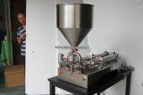압축 공기를 넣은 스테인리스 반 자동 풀 충전물 기계
