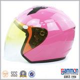 De koele Halve Helm van het Gezicht voor de Ruiter van de Motorfiets (OP206)
