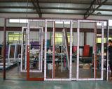 Раздвижная дверь орденских лент рамки 4 следа Kz359 2 алюминиевая