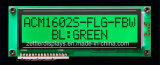 FSTN Positive 16 x 2 Green LED Backlight를 가진 Character LCD Module: Acm1602s-Flg-Fbw