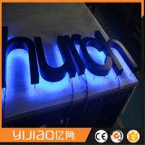 에너지 절약 LED 스테인리스 뒤 Lit 편지 표시