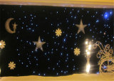 세륨을%s 가진 5*7m Star Curtain Light