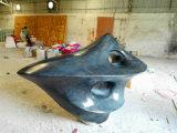 Ornement extérieur de sculpture abstraite en jardin
