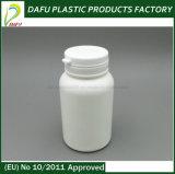 frasco farmacêutico do plástico do PE da cápsula 150ml branca
