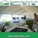 Barraca pública do partido para o público que recolhe eventos para a venda
