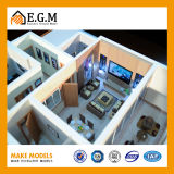 Fabricación del modelo de la unidad/del modelo del apartamento/modelo del edificio del modelo/del proyecto de la construcción de viviendas/modelo fino de la familia
