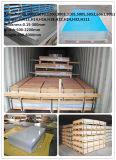 Feuille d'aluminium d'ASTM/en aluminium pour la décoration de construction (1050 1060 1100 3003 5005 5052 6061 6063 6082 7075)