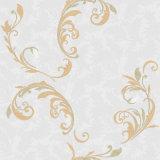 아름다운 꽃을%s 가진 가정 훈장 다마스크천 벽지