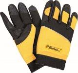 El trabajo mecánico / trabajo guantes protección del dedo de Palm Trabajo Industrial