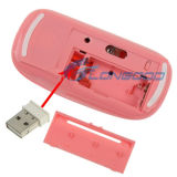 Laser ultrasottile Optical Mouse con il USB Mini Receiver