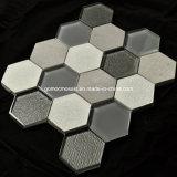2016年に熱いSale Hexagonal Crackle Ice Ceramic Mosaic (OYT-S010)