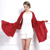 여자는 모양 짓는다 보통 색깔 겨울 모직 숄 (YKY4520)를