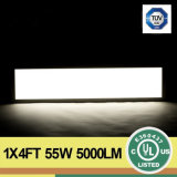 "TUV LED Panel Light (4 ' *1 "" 54W) con CRI>90 5000lm 95lm/W Epistar Chip"