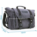Grande saco de lona digital SLR / DSLR Messenger Canvas Messenger