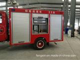 Le camion de lutte contre l'incendie enroulent la porte/obturateur en aluminium de rouleau