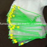 Tipo de material plástico y de plástico PE bolsa Zip Lock