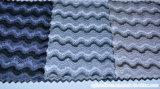 Le double cation de configuration rayée de couleur a teint le tissu balayé de sofa