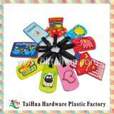 Tag plástico macio da bagagem do PVC da alta qualidade maioria