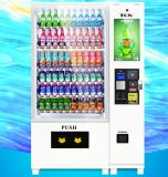 Großes Capacity Drink u. Snack Automatic Vending Machine mit Touch Screen Media