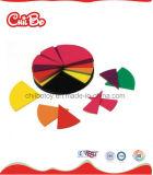 A fração circunda brinquedos educacionais para os miúdos (CB-ED013-M)